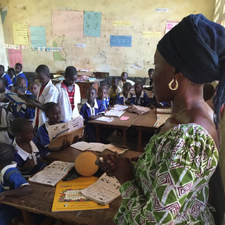 School in The Gambia