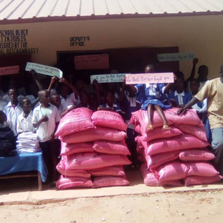 Rice for children and students in The Gambia at Reason 2 Hope