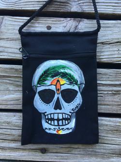 Surfing Skull Bag