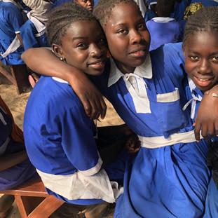 Students at Reason 2 Hope The Gambia