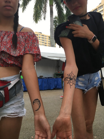Ramble Temp Tattoo