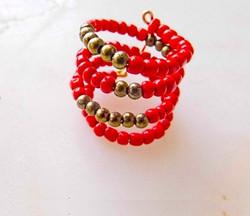 Roman Bead Ring I