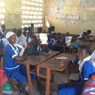 School Children in Gambia