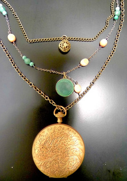 Vintage Upcycled Necklace