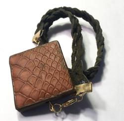 Leather Square Wrap Bracelet
