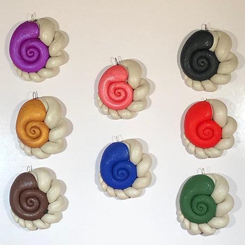 Snail Pendants
