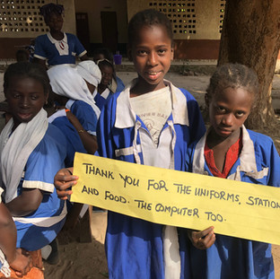 Students in The Gambia