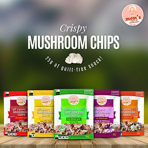 Static Ad - MHM Crispy Mushroom Chips 25