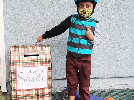 Letters to Santa from the UV
