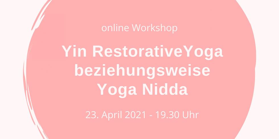 Yin Restorative Yoga bzw Yoga Nidra
