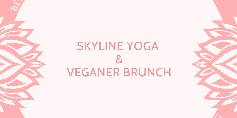 Skyline Yoga mit veganem Brunch auf dem Neroberg