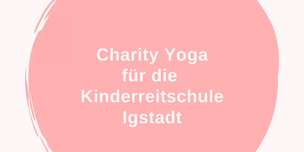 Charity Yoga für die Kinderreitschule Igstadt