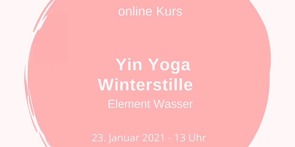 Yin Yoga Winterstille - Element Wasser
