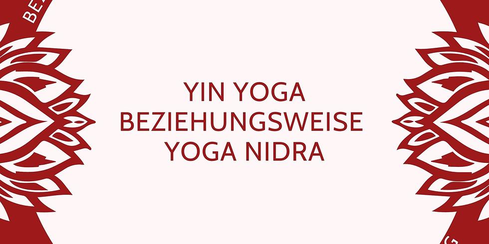 Yin Yoga meets Yoga Nidra