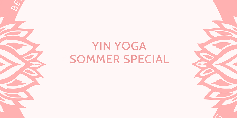 Yin Yoga Sommer Special