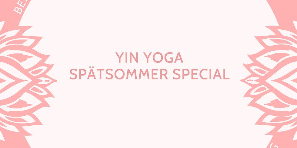 Yin Yoga Spätsommer Special