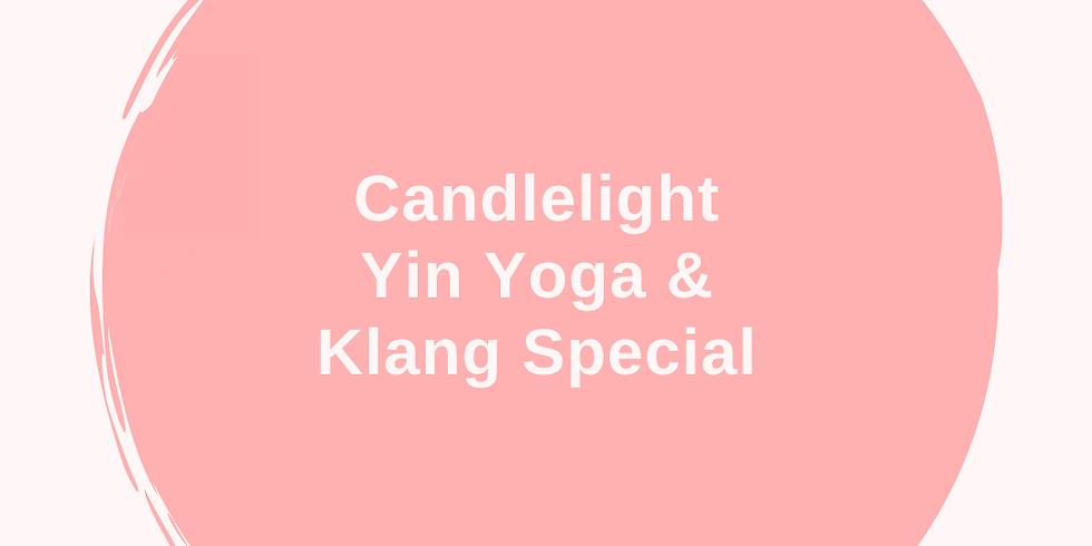 Candlelight Yin Yoga & Klang Special