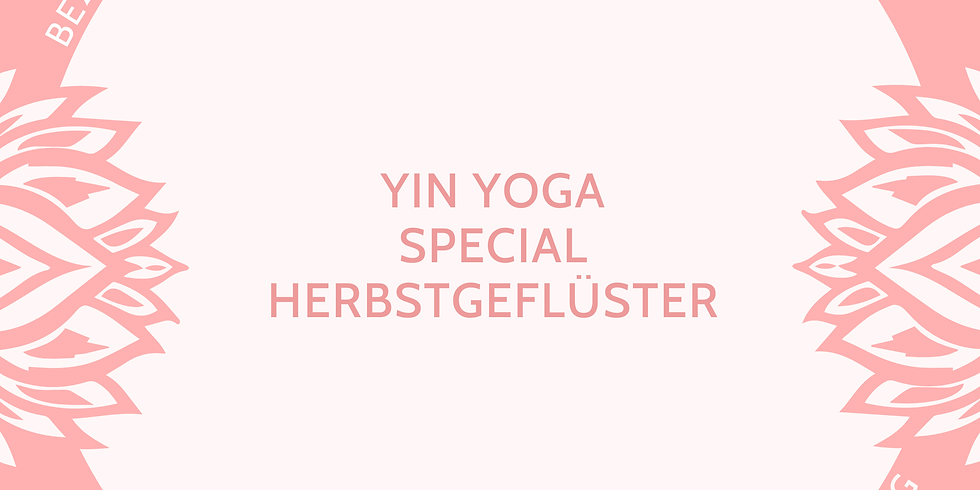 Yin Yoga Special Herbstgeflüster