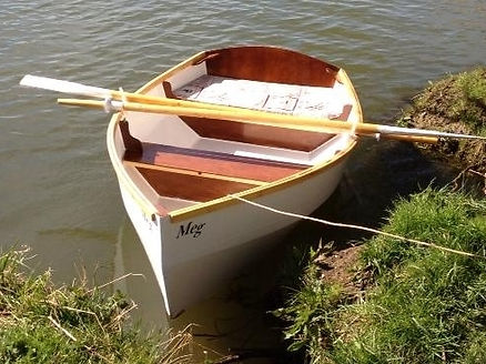Rye Bay dinghy launched
