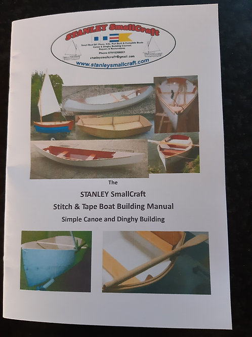 The STANLEY SmallCraft Stitch & Tape Boat Building Manual