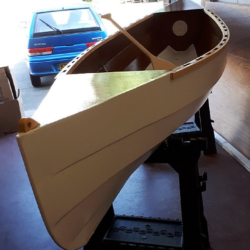 NEW!!  Newmarsh 12 Open Canoe - Plywood & Epoxy Kit