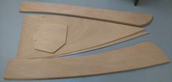 2 Panels cut out