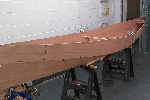 New Bay 15 Open Canoe Plans from