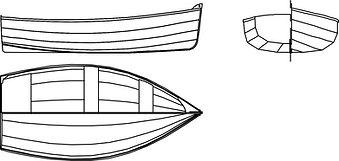 Dunmore 292 Dinghy - A3 Workshop Plans