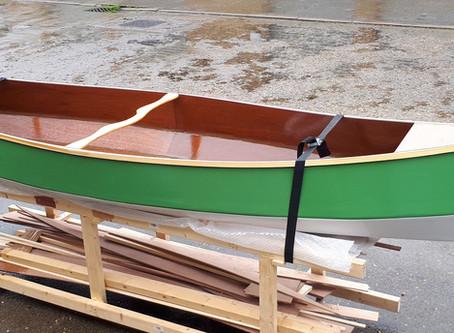 Boat building season is here again.