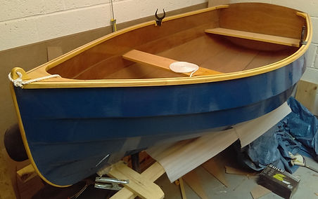 Dengemarsh Canoe. Rother 230 custom build