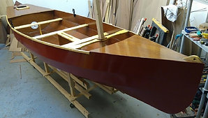 The Fairlight 406 - Paddle, Row, Motor or Sail.