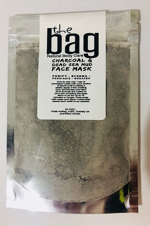 Charcoal & Dead Sea Mud Face Mask