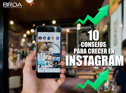 10 consejos para crecer tu marca en Instagram