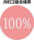 JNEC2級100%合格率