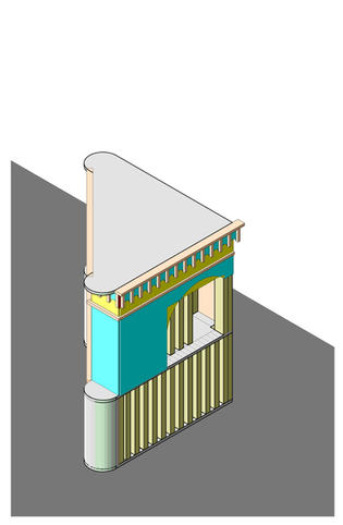3D Axonometric