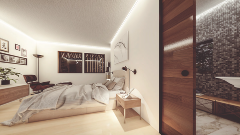 Ditchford Bedroom/En-Suite