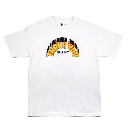 THANK YOU RECORDS TEE (WHITE)