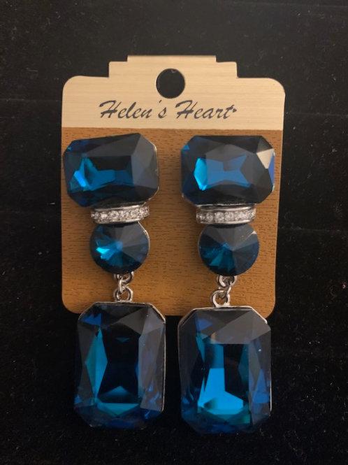 Helen's Heart Drop Earrings