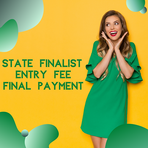 State Pageant Final Payment