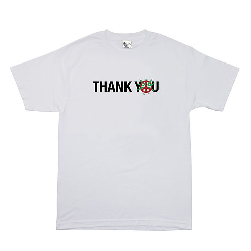 THANK YOU FLOWER TEE