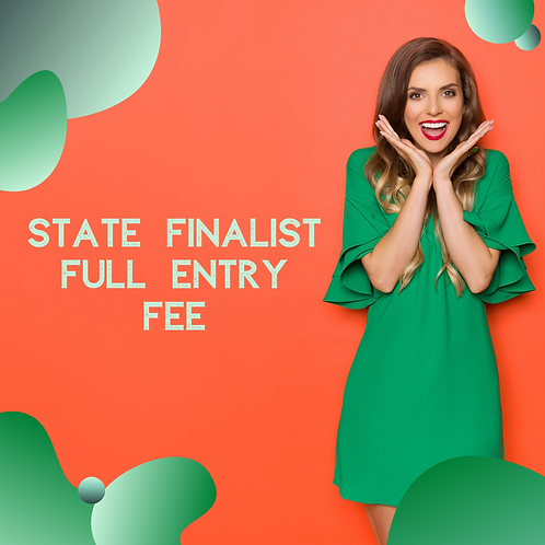 State Pageant FULL Sponsorship Fee