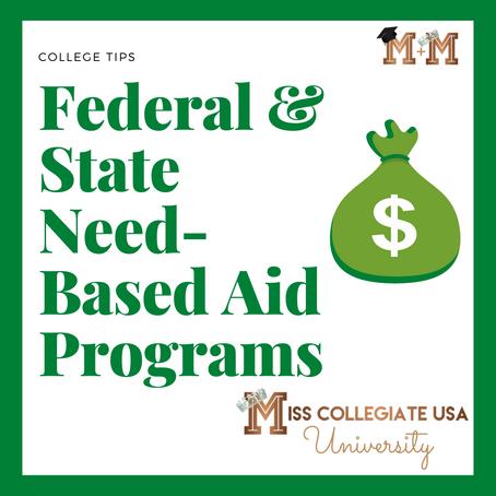 Federal & State Aid Need-Based Aid