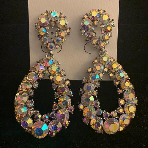 Medium Cluster Drop Earrings