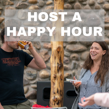 Host a Happy Hour