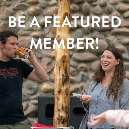 Be a Featured Member!