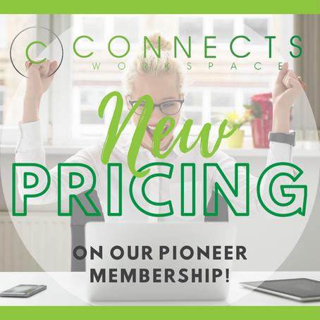Updated Pioneer Membership!!!