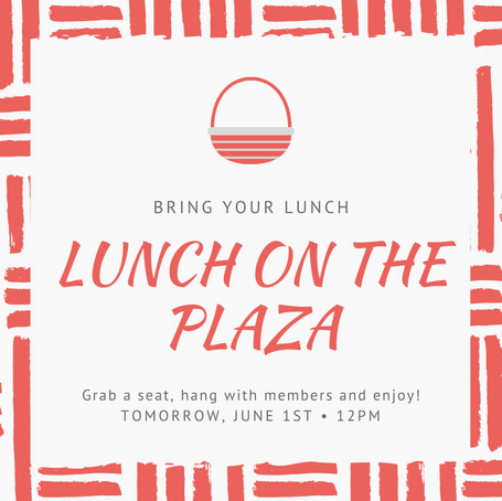 Lunch on the Plaza