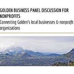Golden Business Panel Discussion for Non