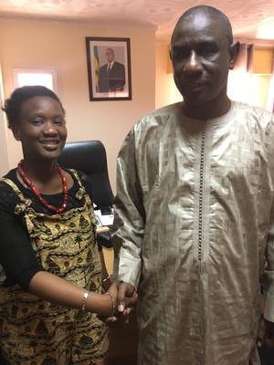 Rencontre avec le Ministre de la formation professionnelle