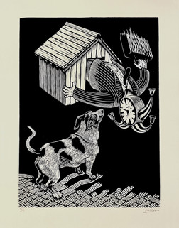 The Smell of Time (from the series Sympathy for the Kennel)